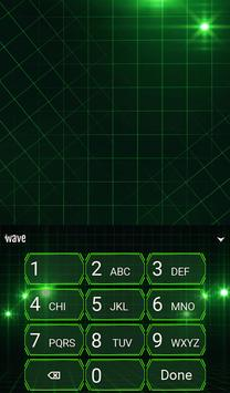 Green Light Animated Keyboard apk screenshot