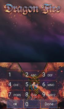 Dragon Fire Animated Keyboard screenshot 4