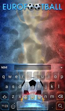 Eurofootball Animated Keyboard apk screenshot