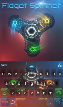 Fidget Spinner Keyboard apk screenshot