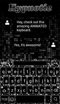 Hypnotic Animated Keyboard apk screenshot