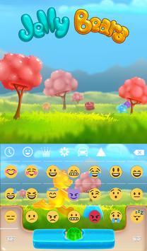 Jelly Bears Animated Keyboard apk screenshot