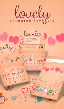 Lovely Animated Keyboard poster