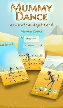 Mummy Dance Animated Keyboard poster