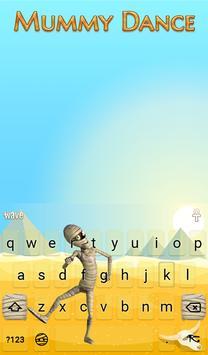 Mummy Dance Animated Keyboard apk screenshot