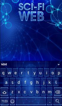 SCI-FI WEB Animated Keyboard apk screenshot