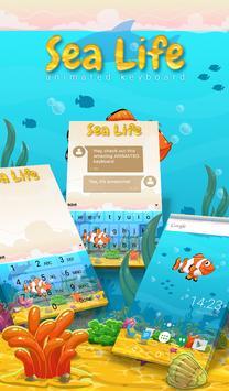Sea Life Animated Keyboard poster