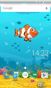 Sea Life Animated Keyboard apk screenshot
