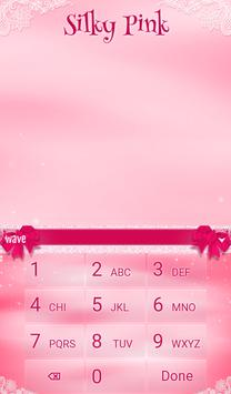 Silky Pink Animated Keyboard apk screenshot