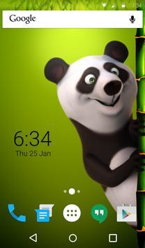 Panda Animated Keyboard apk screenshot