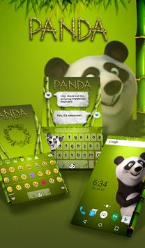 Panda Animated Keyboard poster