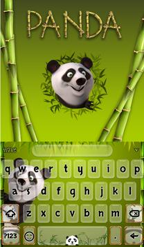Panda Animated Keyboard screenshot 1