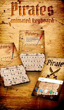 Pirates Animated Keyboard poster