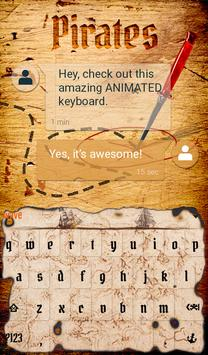 Pirates Animated Keyboard apk screenshot