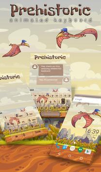 Prehistoric Animated Keyboard poster