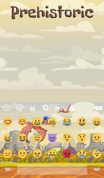 Prehistoric Animated Keyboard apk screenshot
