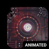 Robot Eye Animated Keyboard icon