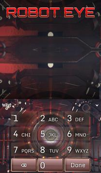 Robot Eye Animated Keyboard screenshot 4