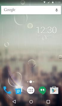 Rain Drops Animated Keyboard apk screenshot