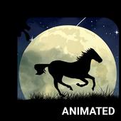 Wild Horse Animated Keyboard icon