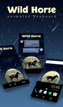 Wild Horse Animated Keyboard poster