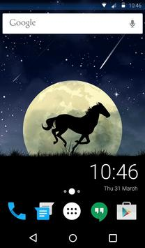 Wild Horse Animated Keyboard apk screenshot