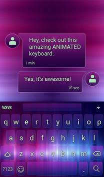 True Color Animated Keyboard apk screenshot