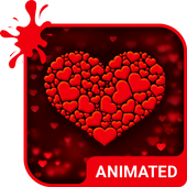 True Love Animated Keyboard icon