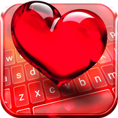 True Love Animated Keyboard icon