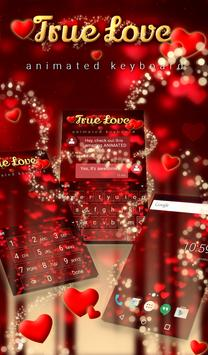 True Love Animated Keyboard poster