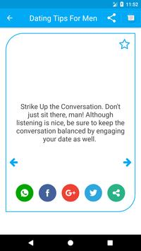 Dating Tips for Men 2018 apk screenshot