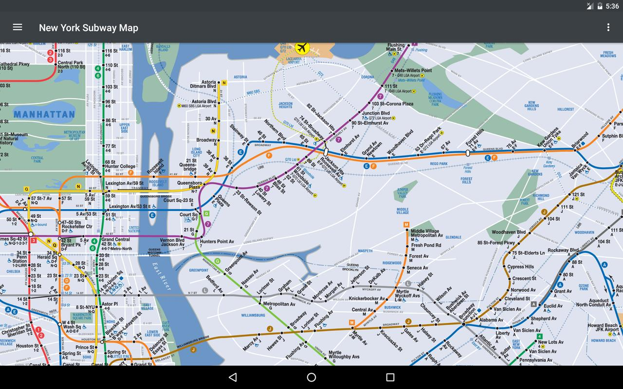 New York Subway Map for Android - APK Download