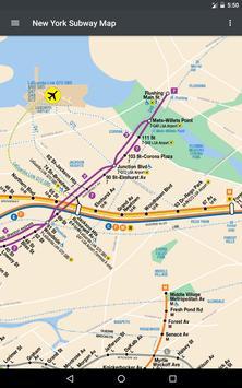 New York Subway Map - NYC apk screenshot