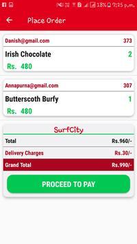 SurfCity Food Order & Delivery apk screenshot