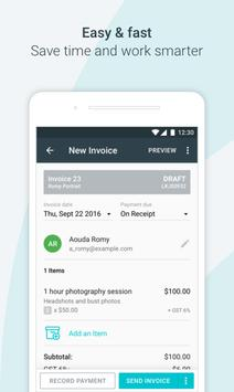 Invoice by Wave apk screenshot