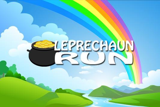 Crazy Leprechaun Run poster