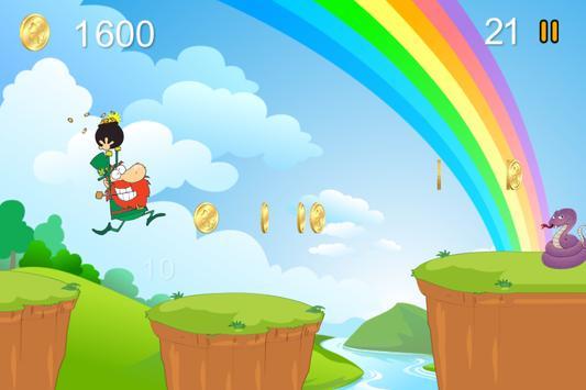 Crazy Leprechaun Run screenshot 1