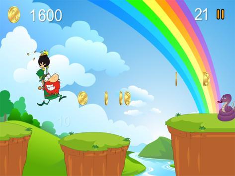Crazy Leprechaun Run screenshot 4