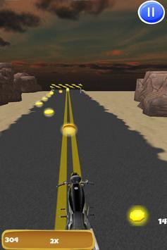 3D Motorcycle Highway Racing screenshot 4