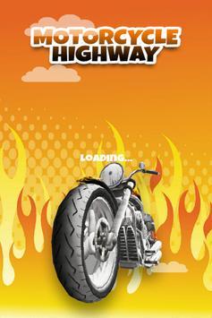 3D Motorcycle Highway Racing screenshot 5
