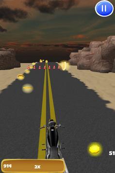 3D Motorcycle Highway Racing screenshot 8