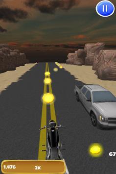 3D Motorcycle Highway Racing screenshot 11