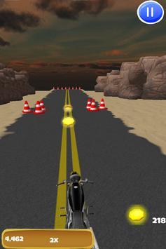 3D Motorcycle Highway Racing screenshot 12