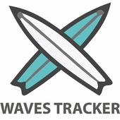 WavesTracker - Surf Track App icon