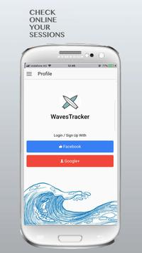 WavesTracker - Surf Track App poster