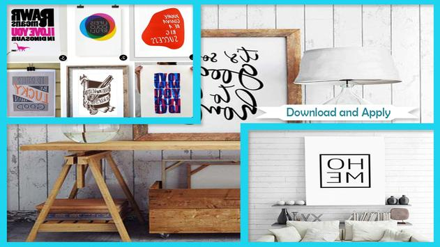 Awesome Typography Wall Art poster
