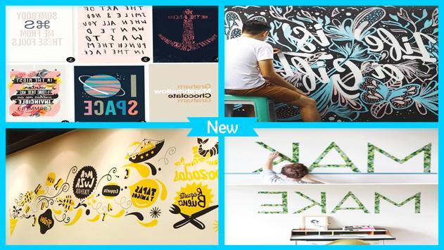 Awesome Typography Wall Art apk screenshot