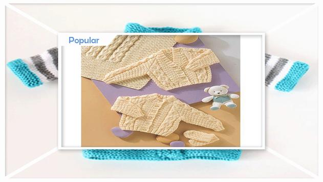 Baby Knitting Patterns screenshot 2
