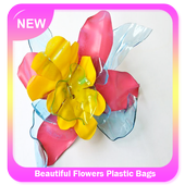 Beautiful Flowers Plastic Bags icon