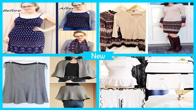 DIY Refashion Clothes apk screenshot